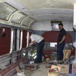 Rebuilding the interior