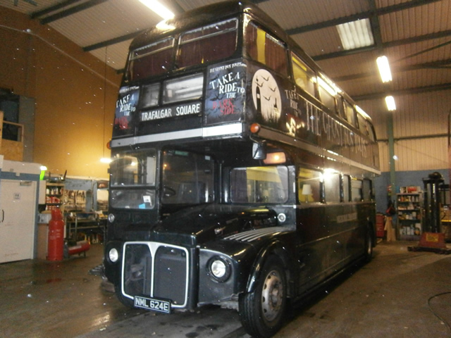 Ghost Bus Tours Exterior