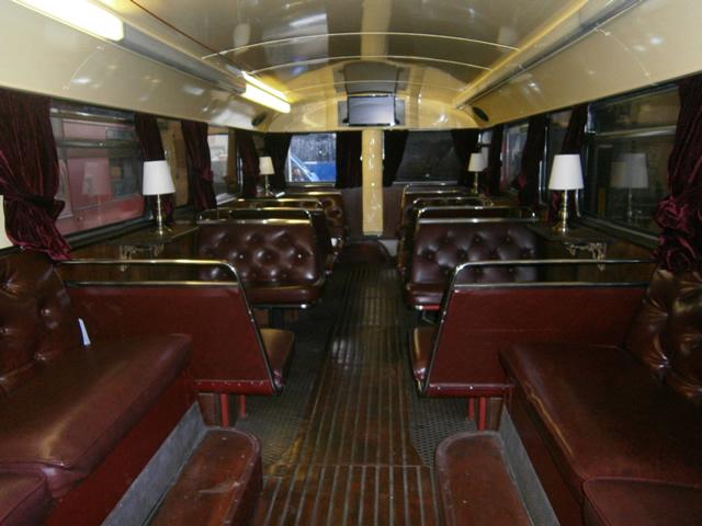 Ghost Bus Tours Interior