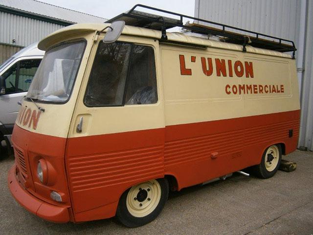 A very rare Peugeot J7
