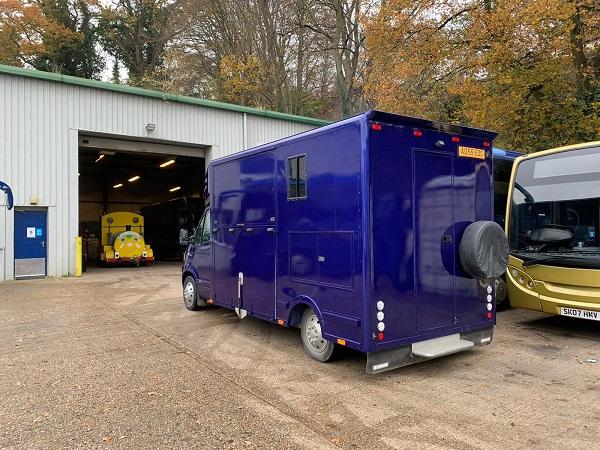 Horsebox Re Spraying Redhill Surrey