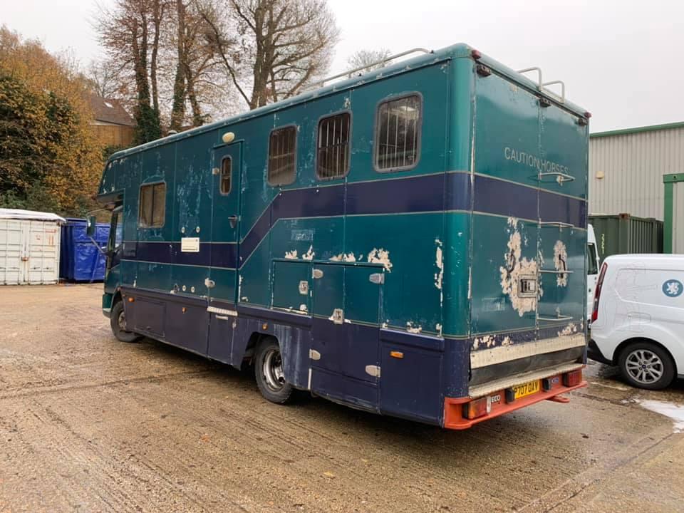 Horsebox Bodywork Repairs Surrey Sussex And Kent