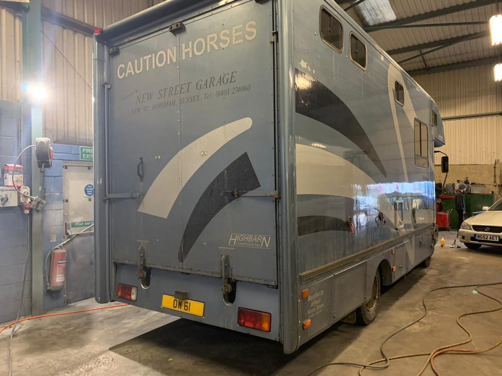 Horsebox Mechanical Repairs And Servicing Surrey Sussex And Kent