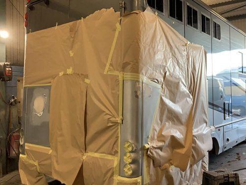 Horsebox Paint Respraying Repairs Redhill Surrey